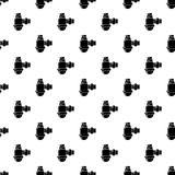 Sewage siphon pattern vector seamless. Repeating for any web design Royalty Free Stock Photos