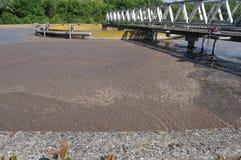 Sewage treatment Stock Images