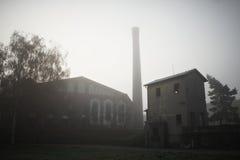 Sewage treatment plant Stock Photos