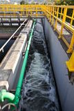 Sewage treatment plant Stock Photography