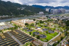 Free Sewage Treatment Plant In Hong Kong Stock Images - 189045324