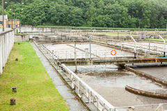 Sewage treatment Stock Photography