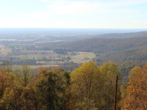 SEWANEE OVERLOOKING THE VALLEY Royalty Free Stock Photography