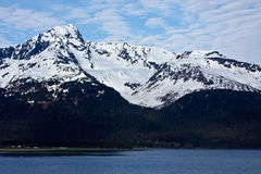 Seward, Alaska Royalty-vrije Stock Foto's
