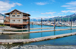 Seward Alaska Royalty Free Stock Images