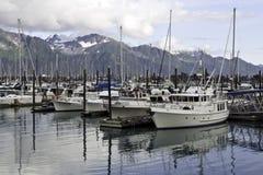 Seward Alaska Arkivbilder
