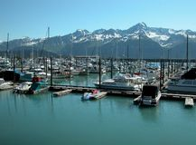 Seward, Alaska Stockbilder