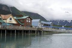 Seward Alaska stock afbeelding