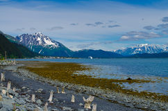 Seward Alaska bay Royalty Free Stock Image