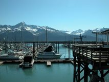 Seward, Alaska Royalty Free Stock Photos