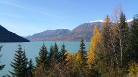 Seward, Alaska. Seward Highway Alaska Royalty Free Stock Photo