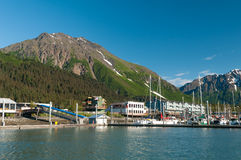 Seward bay Royalty Free Stock Image