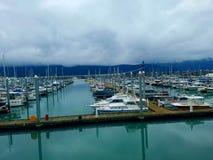 Seward boat harbor. Seward alaska boat harbour Stock Photo
