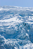seward hubbard ледника Аляски Стоковое Фото