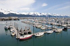 Seward marina Stock Images