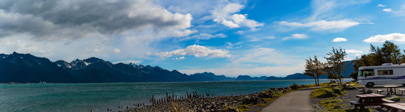 Seward Panorama Stock Image
