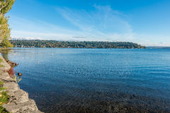 Seward Park - Island Stock Photo