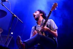 Seward (zespół) wykonuje przy BAM losu angeles Merce festiwalem Zdjęcia Royalty Free