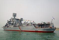 SEWASTOPOL, UKRAINE -- AM 12. MAI: 230 Jahre der Schwarzmeerflotte im Mai feiern Stockbilder