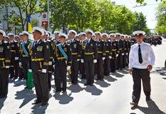 SEWASTOPOL, UKRAINE -- AM 9. MAI: Victory Parade stockbild