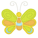 Sewed butterfly Royalty Free Stock Image