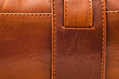 Sewed leather Royalty Free Stock Photos
