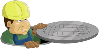 Sewer Royalty Free Stock Image