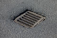 Sewer Royalty Free Stock Photo
