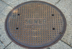 sewer Obrazy Stock