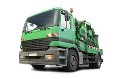 Sewer cleaning tanker stock photos