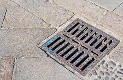 Sewer cover Stock Image