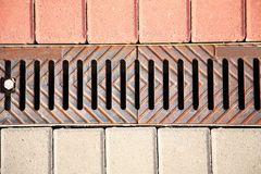 Sewer Drain Royalty Free Stock Photo