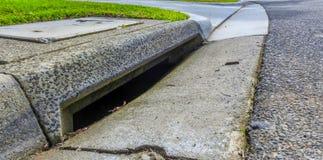 Sewer drain Stock Photos