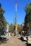 Sewer_drilling Imagem de Stock