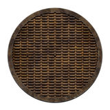Sewer metal cover (Manhole serie) Royalty Free Stock Photography