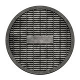 Sewer metal cover (Manhole serie). This is an illustration of a sewer cover (serie Stock Photos