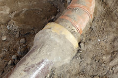 Sewer pipe Stock Photos