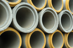 Sewer pipe Stock Image