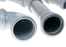Sewer pipes Royalty Free Stock Photo