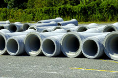 Sewer Pipes Stock Image