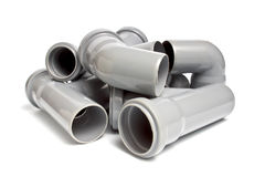 Sewer pipes Stock Photography