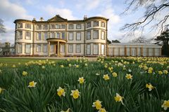 Sewerby Hall. And gardens, near Bridlington, East Yorkshire, UK royalty free stock photo