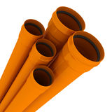 Sewers pipes Stock Images