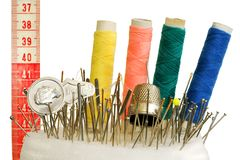 Sewing Foto de Stock Royalty Free
