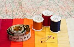 Sewing. Stock Photos