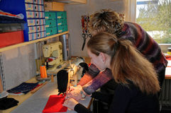 sewing Stock Foto