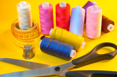 Sewing Royalty Free Stock Photos