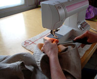 Sewing Royalty Free Stock Images