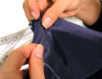 Sewing imagem de stock royalty free