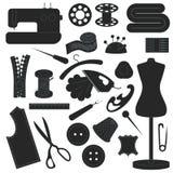 sewing Imagem de Stock